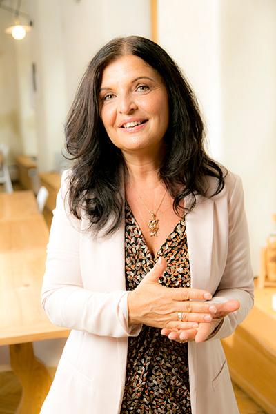 Alexandra Szczepanik als Trainierin